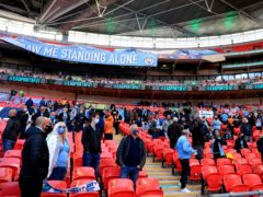 CEV fans were not allowed at pilot events like the Carabao Cup final but that ruling has since been reversed (Adam Davy/PA)