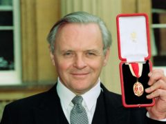 Sir Anthony Hopkins was knighted for services to the arts in 1993 (Martin Keene/PA)