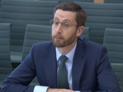 Simon Case, the Cabinet Secretary and the UK's most senior civil servant, giving evidence on the work of the Cabinet Office to the Commons Public Administration and Constitutional Affairs Committee (House of Commons/PA)
