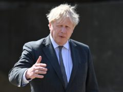 Prime Minister Boris Johnson is said to have told aides he could not afford the rising costs of the No 11 flat works (Paul Ellis/PA)