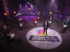 Channel 4 broadcast the leaders' debate across the UK (Andrew Milligan/PA)