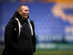 Lincoln manager Michael Appleton has called on his players to remain composed (Nick Potts/PA)
