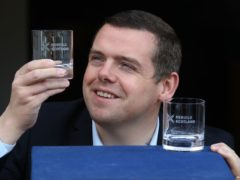 Scottish Tory leader Douglas Ross said the decision in next week's election is between an independence referendum or recovery (Andrew Milligan/PA)