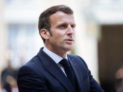 French President Emmanuel Macron (AP)