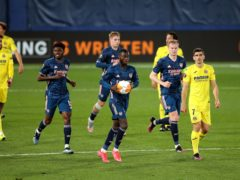 Nicolas Pepe scored a second-half goal for Arsenal in defeat at Villarreal (Isabel Infantes/PA)
