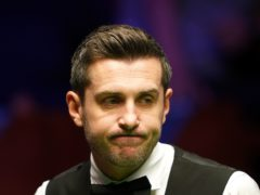 Mark Selby was warned by the referee for slow play (Zac Goodwin/PA)