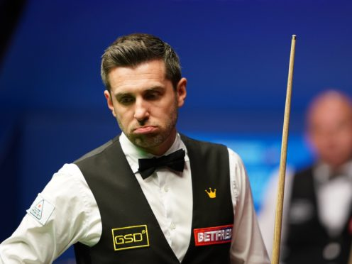 Mark Selby (pictured) was warned for slow play in his clash with Stuart Bingham (Zac Goodwin/PA)