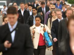 Official estimates for the UK's population in mid-2020 will be published later this year (Dominic Lipinski/PA)
