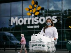 Morrisons has announced it will be the first UK supermarket to move away from plastic bags completely (Morrisons/PA)
