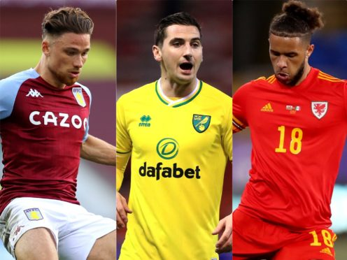 Matty Cash, Kenny McLean and Tyler Roberts could feature at the Euros (PA)