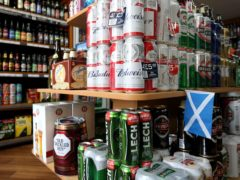 The next Scottish government is being urged to increase the minimum unit price for alcohol (PA)