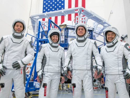 An ESA astronaut is set for launch on a SpaceX Falcon 9 rocket (SpaceX/PA)