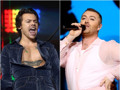 Harry Styles and Sam Smith are among the British LGBT Awards nominees (PA)