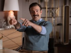 Apple has revealed the second series of its award-winning football comedy Ted Lasso will premiere in July (Apple/PA)
