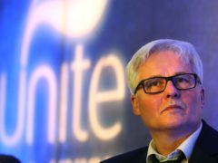 Unite's Pat Rafferty hit out at the wage rise being offered to council staff (Andrew Milligan/PA)