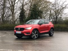 The XC40 has been putting in the hours recently