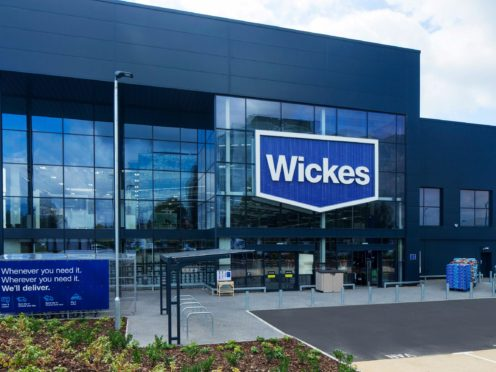 Travis Perkins shareholders voted on plans to demerge the Wickes arm (Wickes/PA)