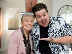 Scott Paige and his grandmother Dot (Channel 4/PA)
