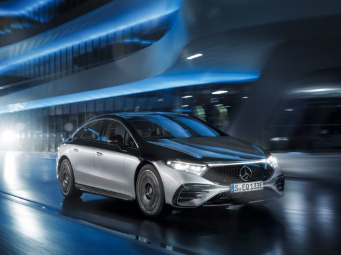The EQS sits atop the firm's range of EVs