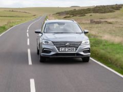The MG5 feels refined when on the move