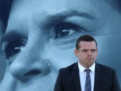 Scottish Conservative leader Douglas Ross hit out at Nicola Sturgeon's 'record of failure' (Andrew Milligan/PA)
