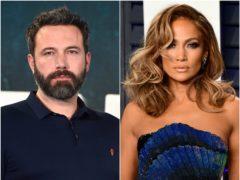 Ben Affleck praised ex-finance Jennifer Lopez as the 'hardest-working person' in showbiz, 17 years after their split (Matt Crossick/Ian West/PA)