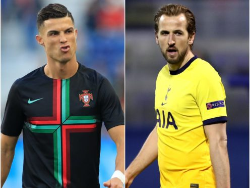Cristiano Ronaldo and Harry Kane feature in today's transfer gossip (Mike Egerton/Luka Stanzl/PA)