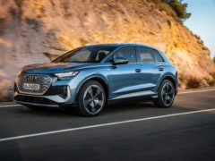 The Q4 e-tron is the latest addition to Audi's electric line-up