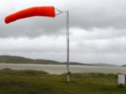 A windsock (Andrew Milligan/PA)