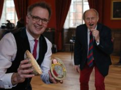 The egg was discovered on a visit to a house in Derbyshire(Bargain Hunt/BBC One Daytime/PA)