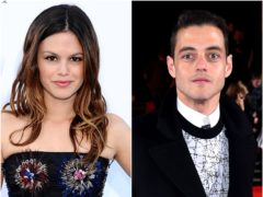 The OC star Rachel Bilson revealed she has cleared the air with former classmate Rami Malek following a controversy over a throwback picture (PA)