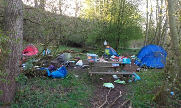 Dirty camping: Join our fight to protect Scotland's great outdoors
