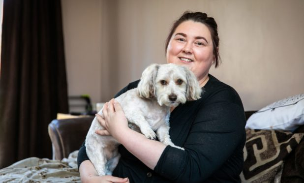 Dundee woman owes her life to dog Rosie amid heartbreak of being unable to have children