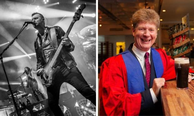 Simple Minds star Ged Grimes and broadcaster Jim Spence on Dundee's place on world stage and moving past misconceptions