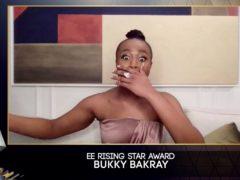 Bukky Bakray – EE Rising Star (Bafta/PA)