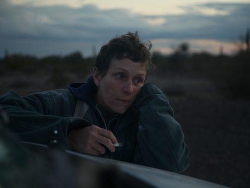 Frances McDormand in Nomadland (Joshua James Richards/20th Century Studios/PA)