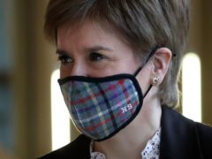 Coronavirus has 'perhaps' made people in Scotland think about the 'benefit of self government'. Nicola Sturgeon said. (Andrew Milligan/PA)