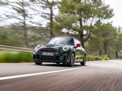 The new JCW retains the same 2.0-litre turbocharged petrol engine as before