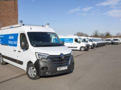 A fleet of 500 Master vans have been converted