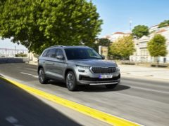 The Kodiaq boasts a redesigned front end