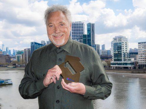 Sir Tom Jones has topped the album charts (OfficialCharts.com/PA)