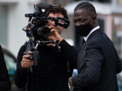 Rapper Pa Salieu arrives at Coventry Magistrates' Court (Jacob King/PA)