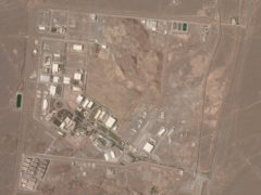 Iran's Natanz nuclear site suffered a problem involving its electrical distribution grid just hours after starting up new advanced centrifuges which more quickly enrich uranium, state TV reported (Planet Labs Inc/AP)