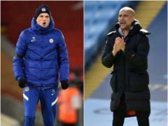 Thomas Tuchel (left) and Pep Guardiola will go head to head on Saturday (Oli Scarff/ Rui Vieira/PA)