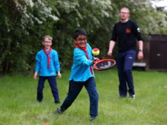 Beavers aged six to eight will have the chance to try out tennis through a new partnership with the Lawn Tennis Association (LTA handout)