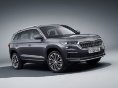 The Kodiaq has been given a range of updates