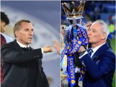 Brendan Rodgers, left, and his side missed out on the top four, leaving Claudio Ranieri's champions as an exception (Rui Vieira/Nick Potts/PA)