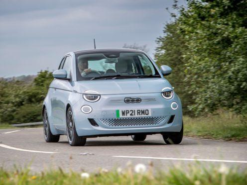 The electric 500 feels far nippier than the regular petrol version