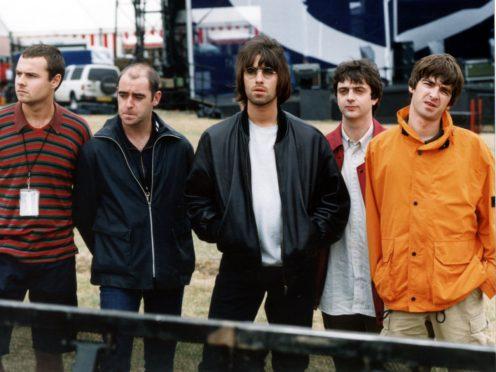 Oasis at Knebworth (Stefan Rousseau/PA)