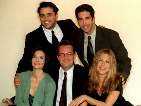 The stars of Friends got back together for a one-off episode (Neil Munns/PA)